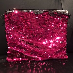 ✨New✨Sequin Clutch/Bag Hott Pink!